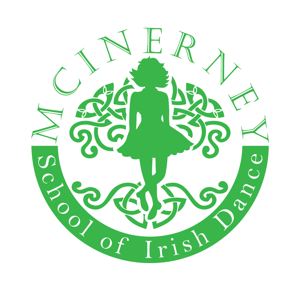 Irish Dancing School Logo Funky With A Celtic Influence