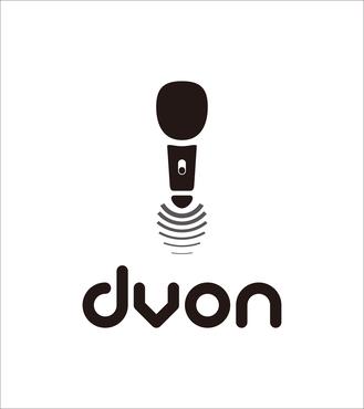 dvon专业无线麦克风公司logo翻新图片