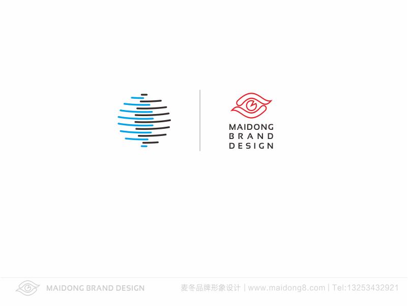 潮流服饰品牌圆形logo设计