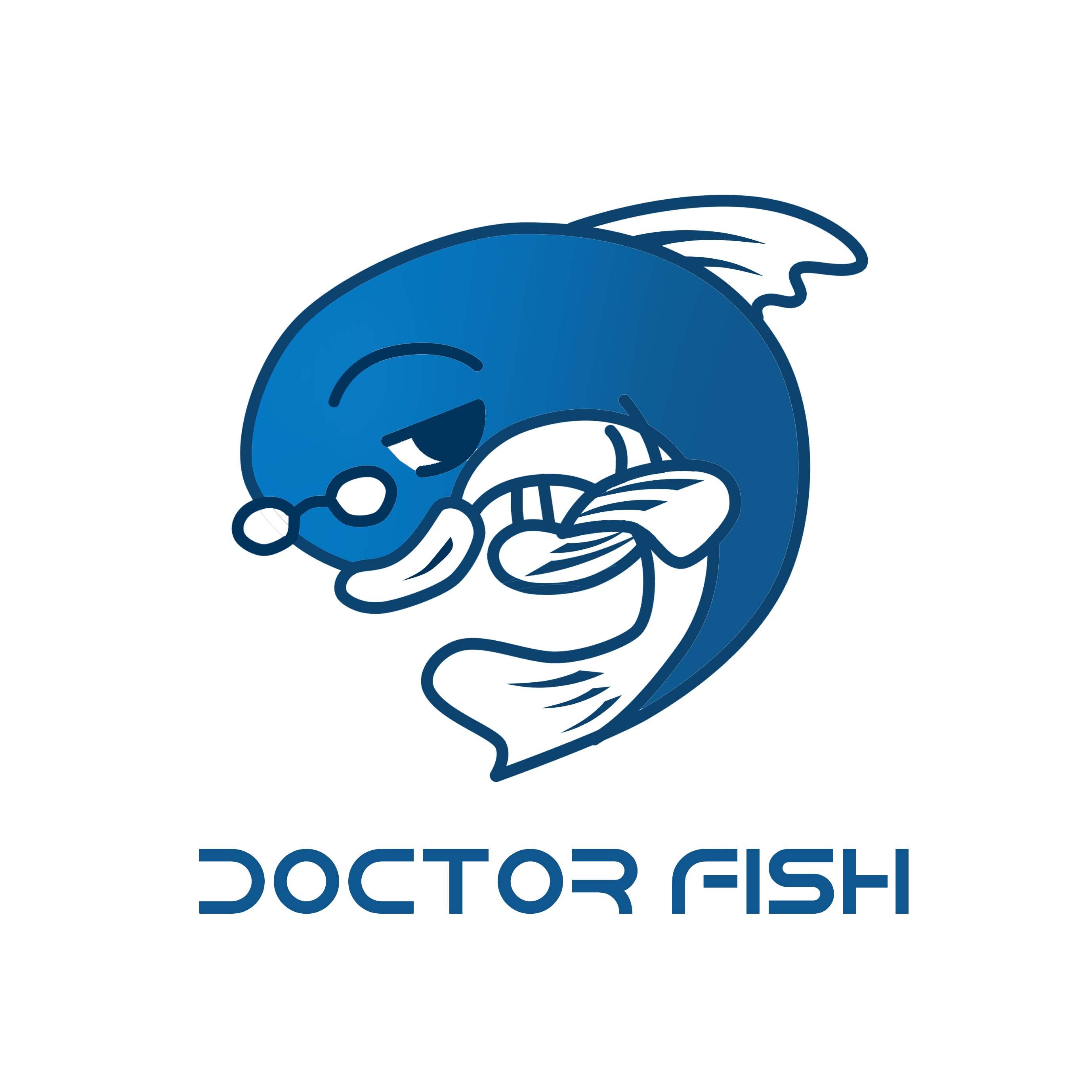 卡通鱼的吉祥物设计 /