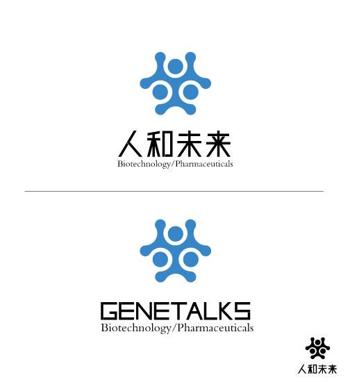 基因生物科技公司 logo