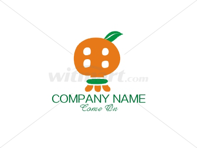 Fruit juice Drink green Logo by 008MASTERMIND - Ready-made