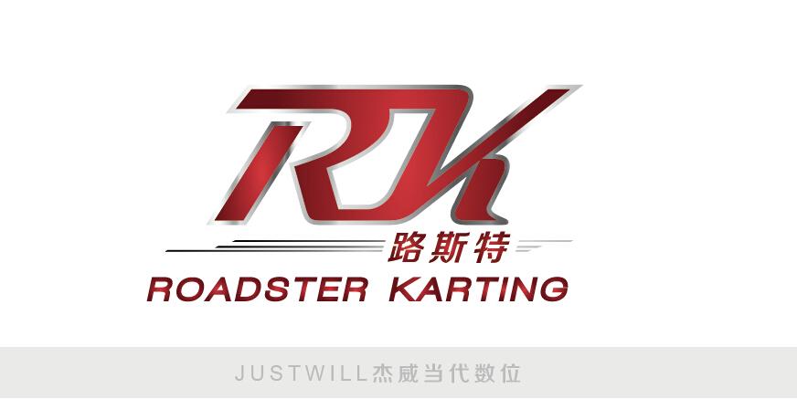 卡丁车赛馆logo设计