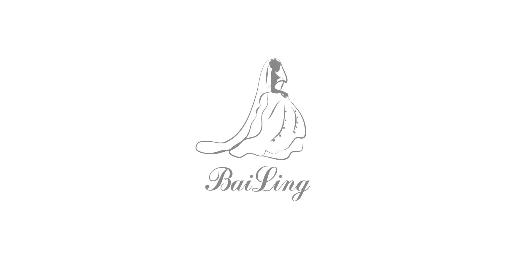 婚纱logo图片_图标设计