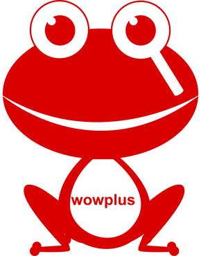 放大镜发现青蛙logo-放大镜发现