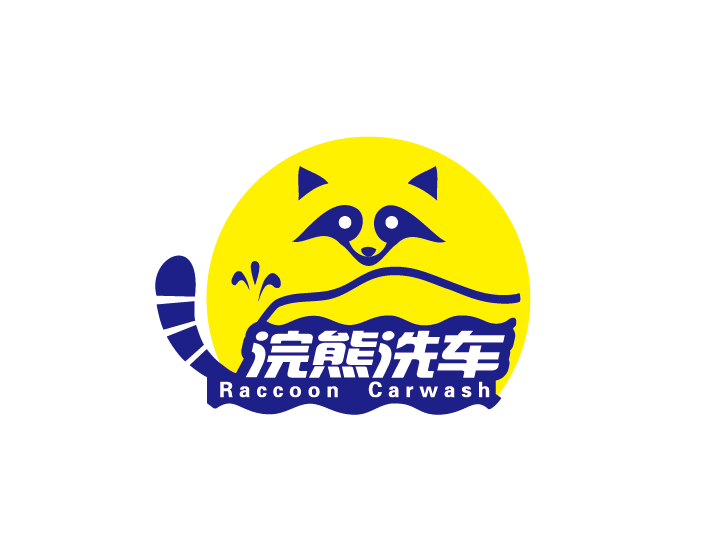 onsite carwash service logo design-- 上门洗车服务