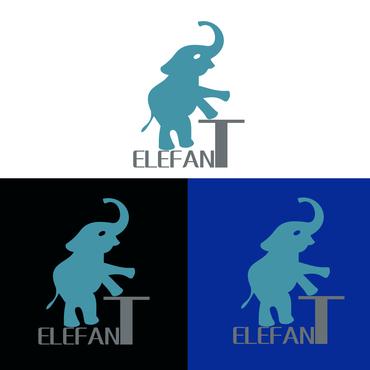 以大象为设计元素,简洁大气,时尚直观.