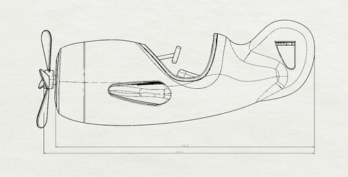 犀牛铅笔手绘图片