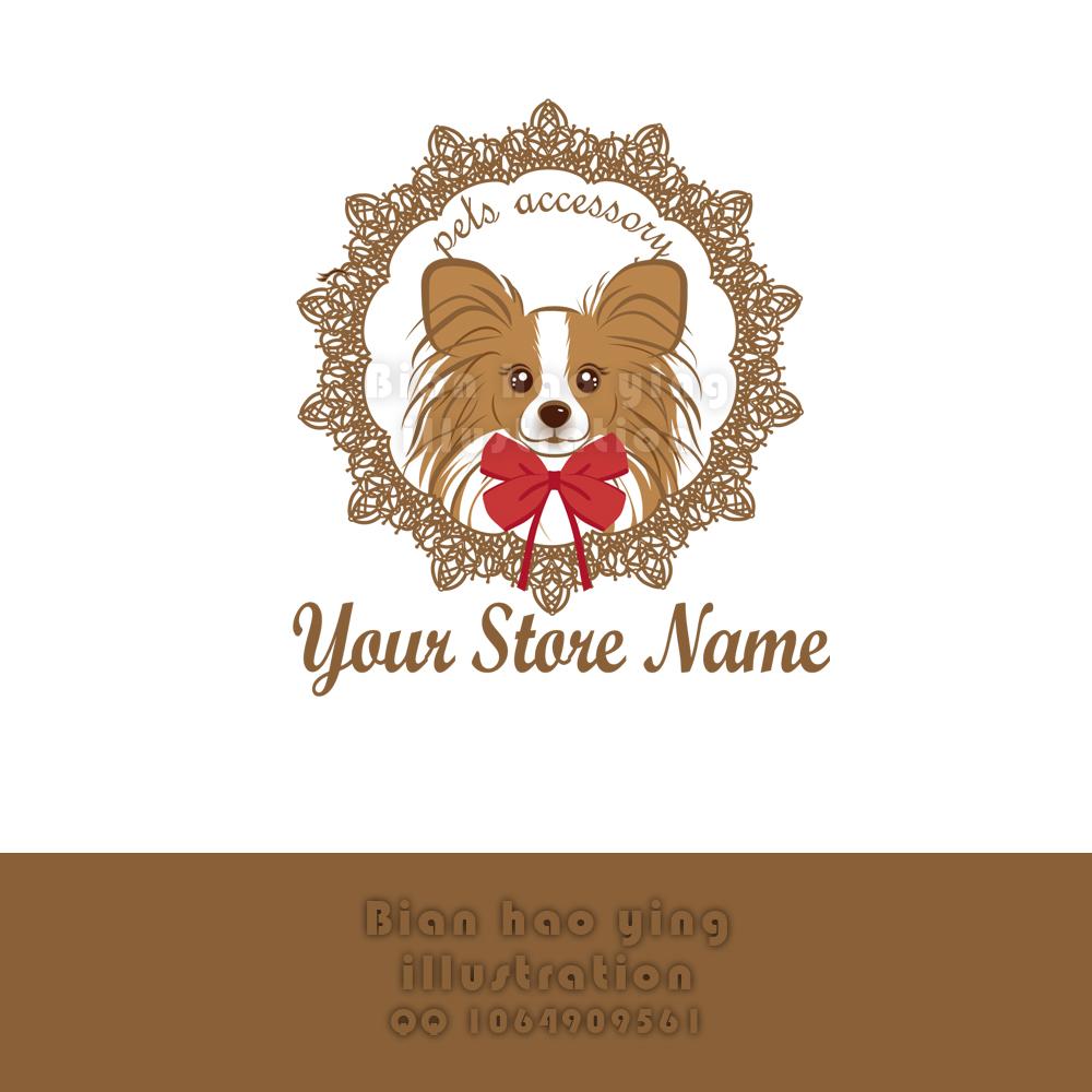 宠物饰品商标logo设计