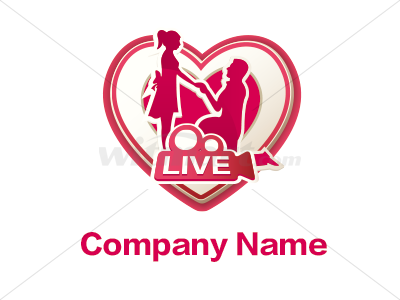 Designed by gzcdesign, a perfect logo for Dating, Games & Recreation, Internet, Photography, Wedding Services